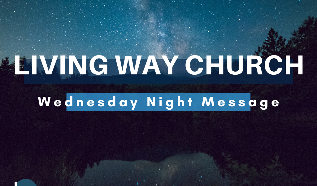 "Wednesday Night 5/13 | ""The Call for Patience & Perseverance"""